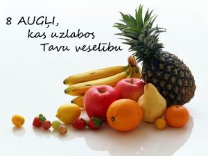 8 augļi kas uzlabos tavu veselību
