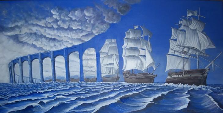 māksla un kuģis