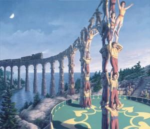 māksla un dzelzsceļa tilts