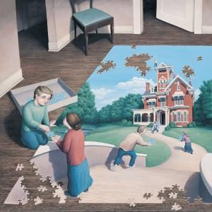 māksla un puzle