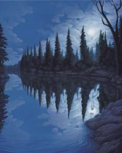 māksla un ezers