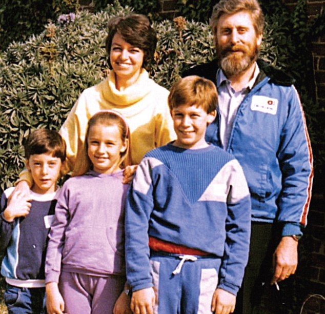 martins pistorius ar ģimeni