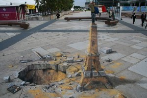 3d māksla tornis
