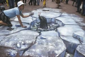 apbrīnojamā 3d māksla ronis
