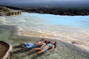 baseini Turcijā Pamukkale