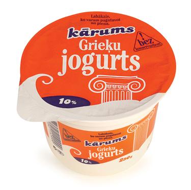 grieķu jogurts
