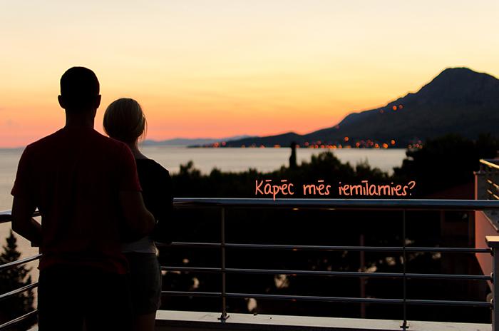 kāpēc mēs iemīlamies