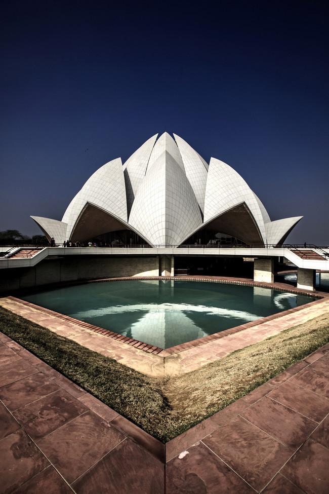 Lotus templis, Indija