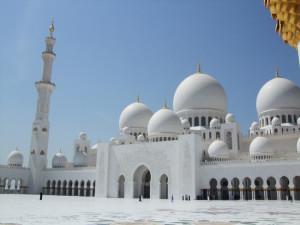 Šeiha Zayeda grandiozā mošeja, Abu Dabi, Arābu Emirāti