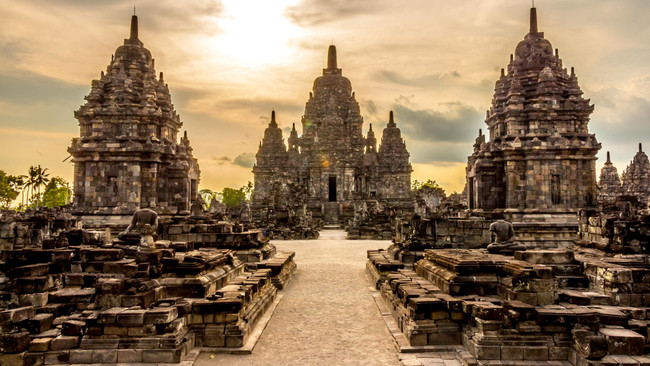 """""""Prambanan"""" templis, Yogyakarta, Indonēzija"""