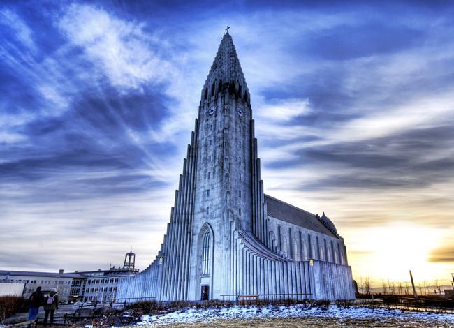 Hallgrímskirkja, Reikjavīka, Islande