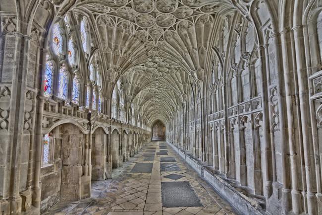 Gloučesteras Katedrāle, Anglija