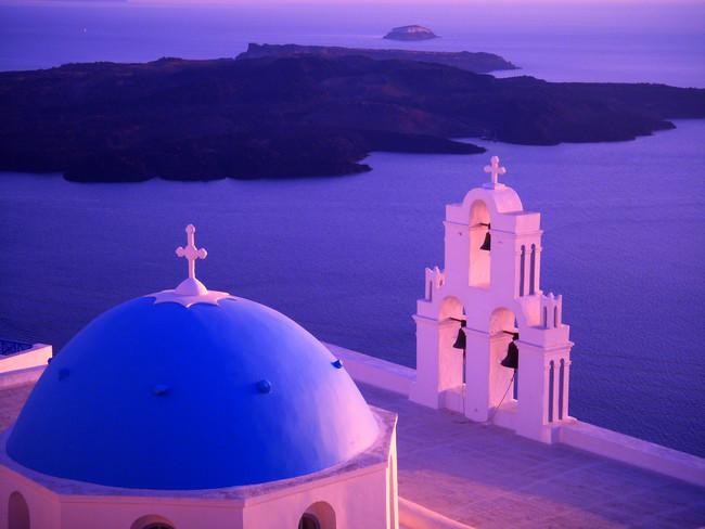"""Agios Theodori"" baznīca, Santorini, Grieķija"
