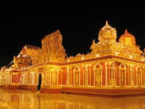 """Kudroli Shri Bhagavathi"" templis, Mangalūra, Indija"
