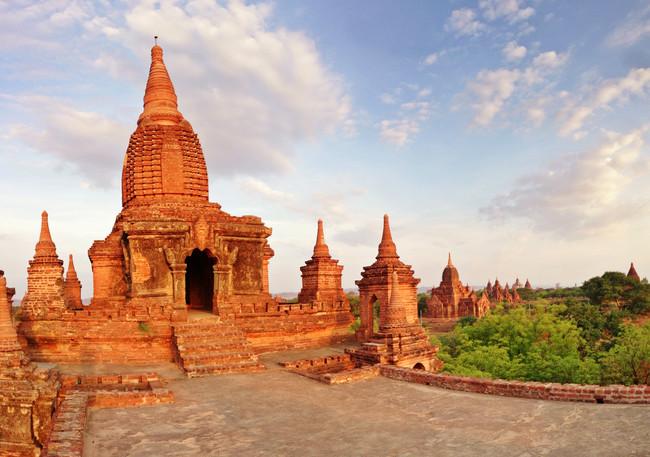 """Lawkaoushaung"" templis, Bagana, Mjanmara"