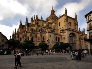 Segovijas katedrāle, Spānija