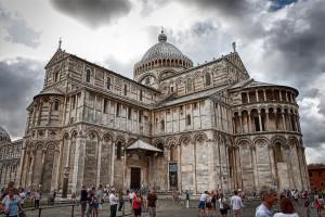 Pisa katedrāle, Itālija