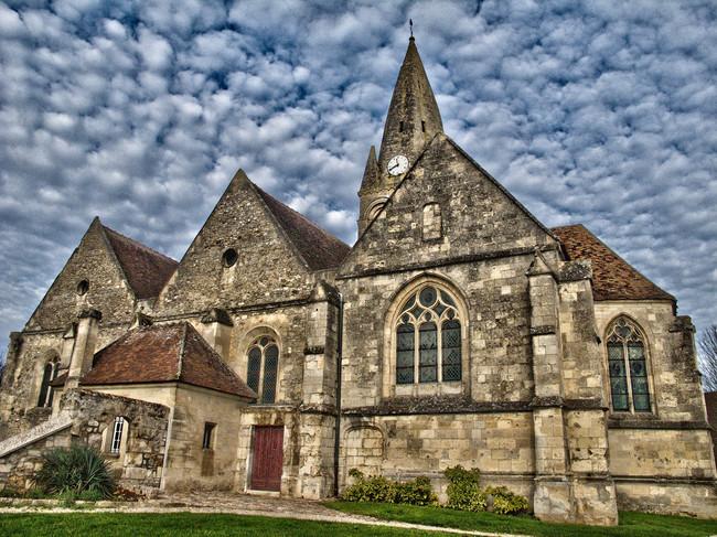 Sena lauku baznīca, Francija
