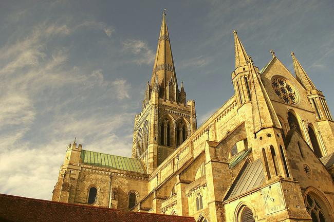 Čičesteras katedrāle, Susseksa, Anglija
