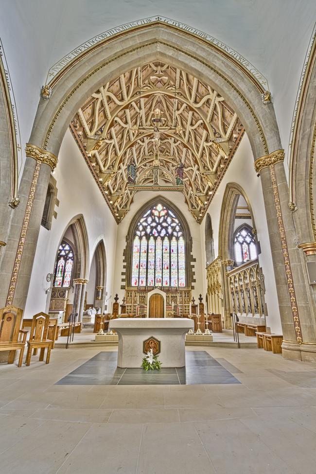 Svētās Marijas katedrāle, Šefīlda, Anglija