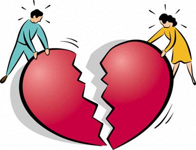 kā parvarēt šķiršanos