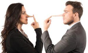 kā pateikt ka cilvēks melo